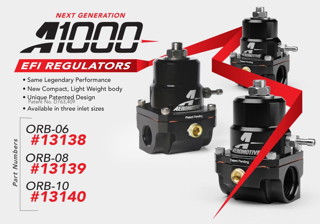 New A1000 Gen-II EFI Regulator PN:13139