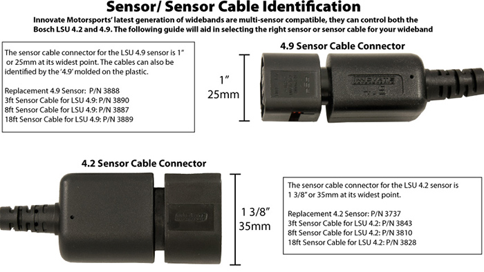 Innovate Wideband O2 Sensor (Bosch LSU4.9) 4